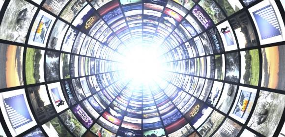 Digital Signage Tunnel