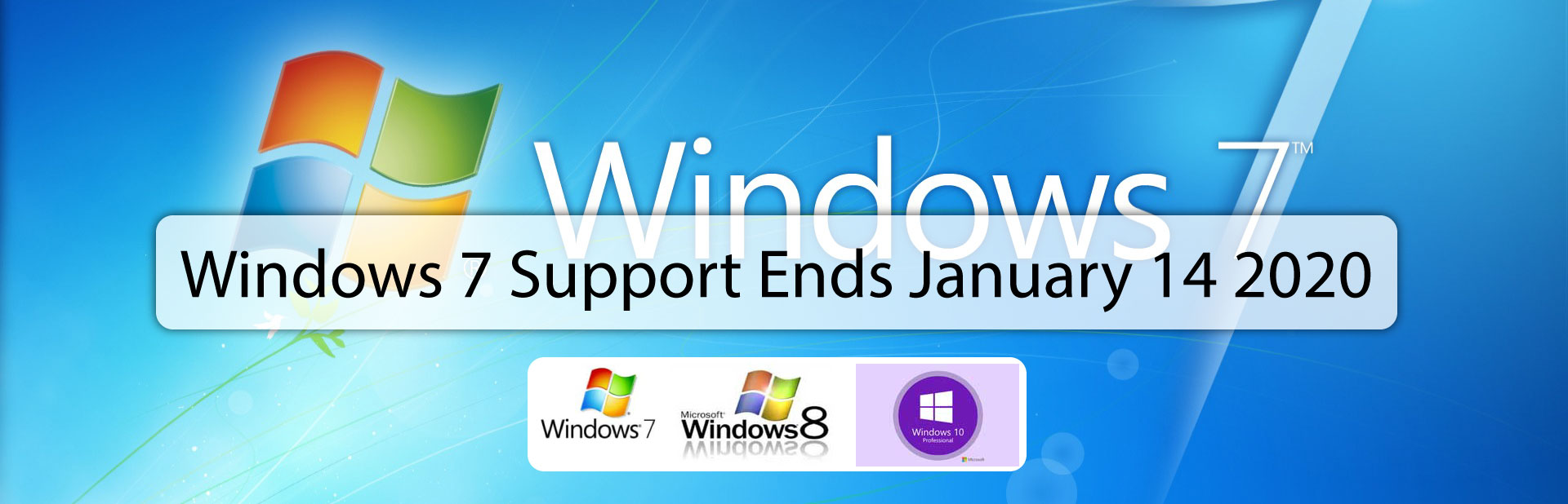 Windows 7 support ends January 14 2020