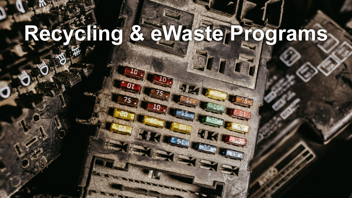 TechPoint recycling and electronic waste programs
