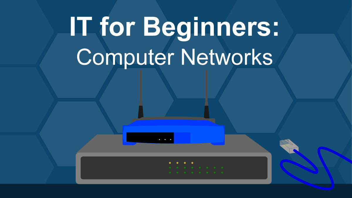 IT for beginners: computer network hardware