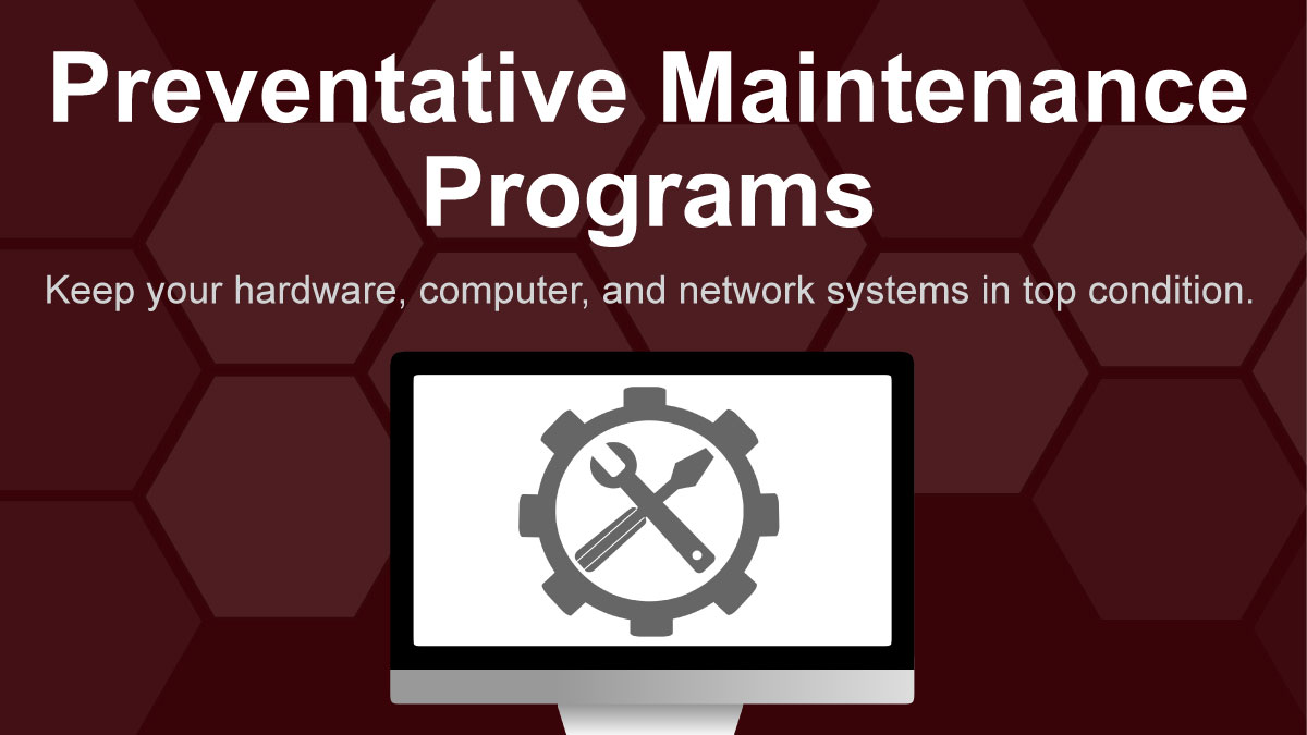 TechPoint preventative maintenance.