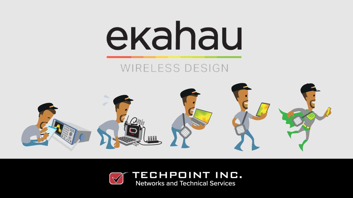 Ekahau wireless design by TechPoint